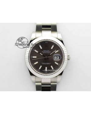 DateJust II 41mm SS BP Maker Best Edition Dark Gray Dial On SS Bracelet SA3136