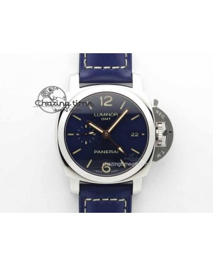 PAM688 S VSF 1:1 Best Edition Blue Dial On Blue Leather Strap P.9001 Super Clone