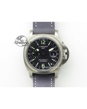 PAM 089 GMT 1:1 H Maker Best Edition on Leather Strap