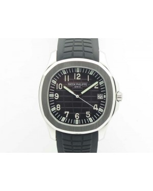 Aquanaut 5167 SS PF 1:1 Best Edition Gray Dial On Rubber Strap A2824
