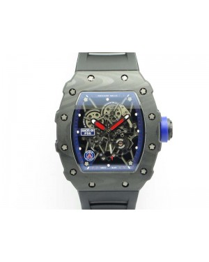 RM035-01 PSG FC Case KVF Best Edition Skeleton Dial On Rubber Strap MIYOTA8215 V2