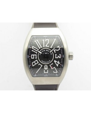 Vanguard V45 Ti TF 1:1 Best Edition Gray Dial On Gray Gummy Strap A2892