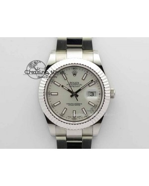 DateJust II 41mm SS BP Maker Best Edition White Dial On SS Bracelet SA3136