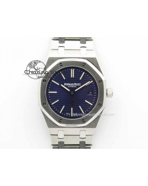 Royal Oak 39mm 15202 SS Blue Dial On SS Bracelet MIYOTA9015