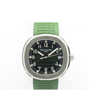 Aquanaut Jumbo MP Best Edition SS Green Dial On Green Rubber Strap PP324CS