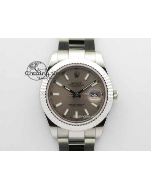 DateJust II 41mm SS BP Maker Best Edition Gray Dial On SS Bracelet SA3136