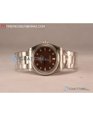 Milgauss Vintage Steel Case With Brown Dial Yellow Dot Oyster Bracelet