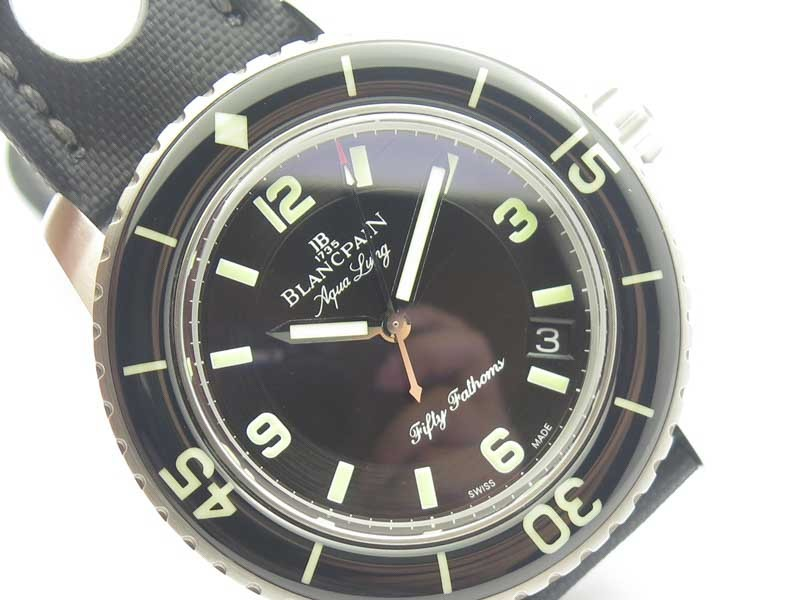 Best Replica Blancpain Fifty Fathoms 5015C