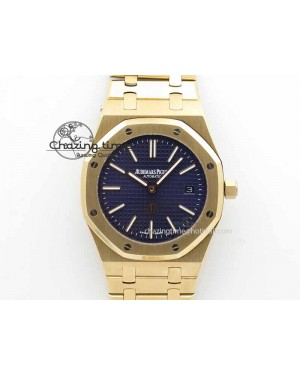 Royal Oak 39mm 15202 RG Blue Dial On RG Bracelet MIYOTA9015