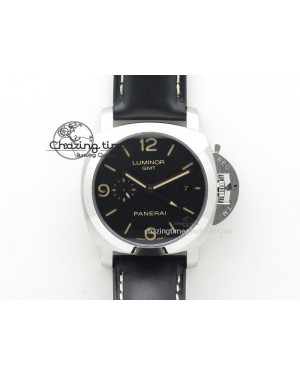 "PAM586 Q ""Brazil"" ZF Best Edition on Black Leather Strap P.9001"
