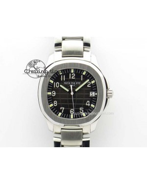Aquanaut Jumbo V6 Best Edition SS Black Dial On SS Bracelet A2824