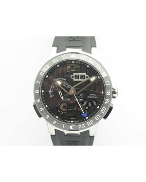 Executive Toro SS TWA 1:1 Best Edition Black Dial On Rubber Strap Asian UN-32