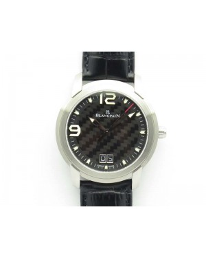 Evolution R10 SS ZZF 1:1 Best Edition Black Dial On Black Leather Strap Cal.6950