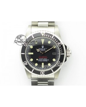 Vintage Sea Dweller 1665 JKF Best Edition Double Red On Bracelet A2836