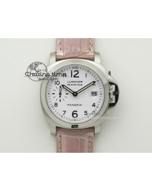 PAM049 F V6F 1:1 Best Edition On Pink Leather Strap A7750