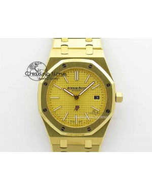 Royal Oak 39mm 15202 YG Gold Dial On YG Bracelet MIYOTA9015