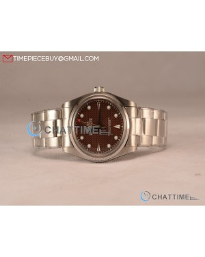 Milgauss Vintage Steel Case With Brown Dial White Dot Oyster Bracelet